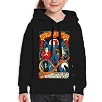 Guiping Sanderson Sisters Teen Hooded Sweate Sweatshirt S Black