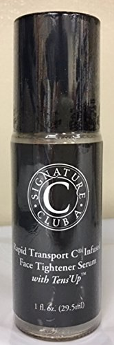 Skin Care Signature Club (Signature Club A Rapid Transport C Infused Face Tightener Serum with Tens'Up (1 fl. oz.))