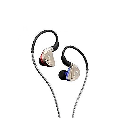 FIDUE A83 High-End Triple-Driver Hybrid 2 Balanced Armature+Dynamic In-Ear HiFi Earphones