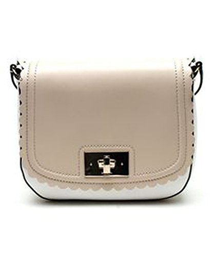 ca2ff40e6bac Kate Spade WKRU2478 Two Tone Seth Crossbody Scallop Twist Lock Handbag  Lilac Road  Amazon.ca  Shoes   Handbags