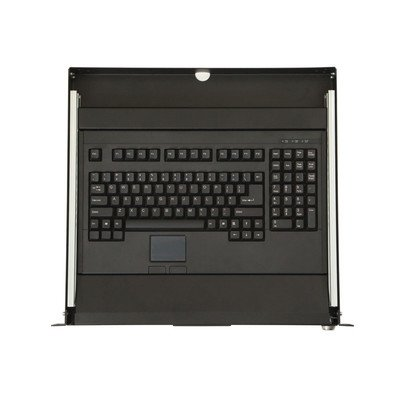Kendall Howard 1U Rackmount 2-Post Keyboard Tray ()