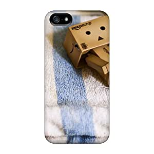 CloudTown Case Cover For Iphone 5/5s - Retailer Packaging Danbo Towel Protective Case