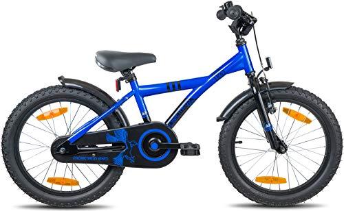Prometheus Bicicleta Infantil niño y niña | 18 Pulgadas | Azul ...