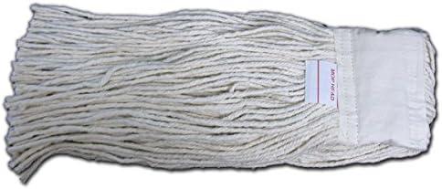8-Ounce 12-Pack T.W Evans Cordage C1008 Evandale Cotton Mop Head