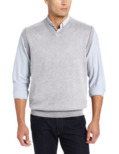 UPC 790503120960, Cutter & Buck Men's Broadview Sweater Vest, Athletic Grey Heather, XX-Large