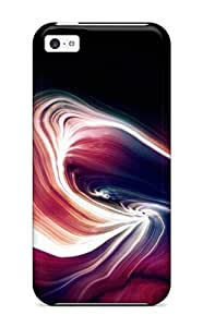 For Iphone 5c Protector Case Cgi Abstract Phone Cover