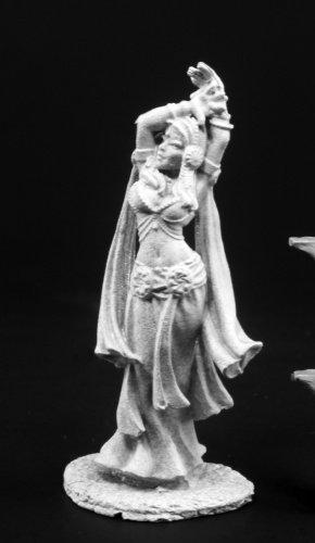 Reaper Nemesra Dancing Girl Miniature 25mm Heroic Scale Dark Heaven Legends Miniatures