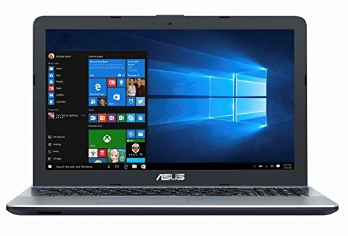 Asus VivoBook Max 15.6 inch HD Flagship High Performance Laptop PC, Intel Celeron Dual-Core Processor up to 2.4 GHz, 4GB RAM, 500GB HDD, No DVD, WiFi, Webcam, Bluetooth, Windows 10