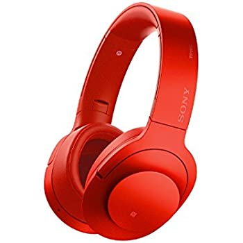 Sony H.ear on Wireless Noise Cancelling Headphone, Cinnabar Red (MDR100ABN/R)