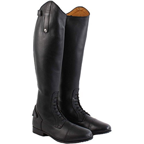 Mark Adults Boots Leather 9 Todd Competition Slim UK Field Standard Black Long f4qAgfF