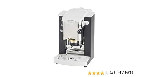 Faber - Slot - Máquina de café de monodosis de papel Ese 44 mm, inoxidable, color negro: Amazon.es: Hogar