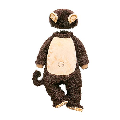 MaxTide Kid's Halloween Monkey Costumes Party Costumes(73cm(Height 26-30 Inch)) ()