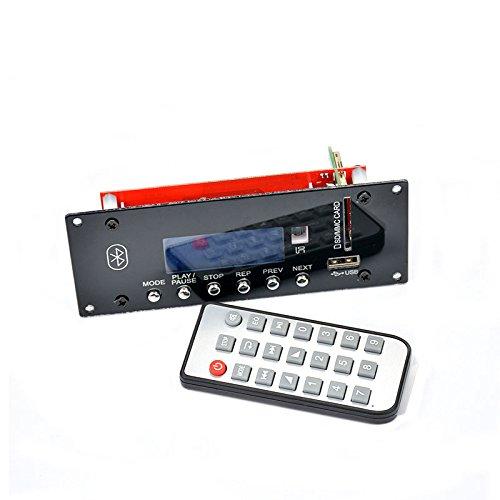 AIYIMA Bluetooth 4.0 HIFI Audio Accessories Lossless Support U Disk SD LCD Display FM Audio Decoder Board(A)