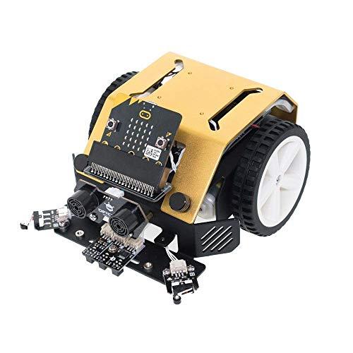 Module Max Kit - DFROBOT Max:bot DIY Programmable Robot Kit for Kids - STEM Learning Educational Smart Car Robotics Toy for Micro:bit