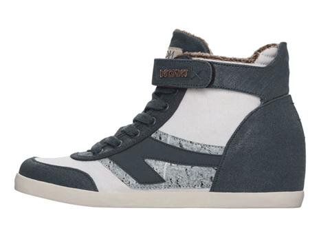 Movmt Womens Jade Vegan Wedge Sneaker Blå