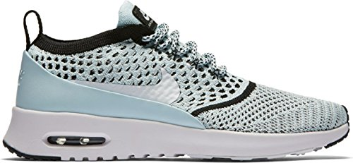 Nike Air Max Thea Ultra FK Womens Running Trainers 881175 Sneakers Shoes (US 7, Glacier Blue White Black 400)