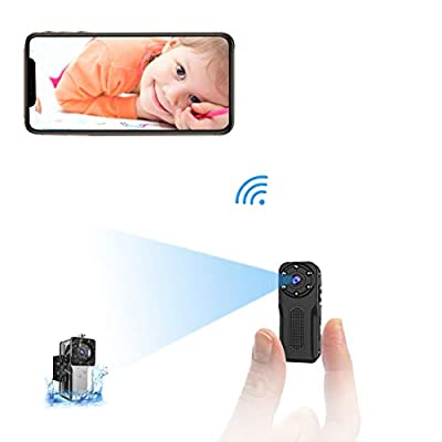 WiFi Waterproof Mini Hidden Spy Camera, NIYPS HD 1083P Underwater Security Video Camera, Covert Nanny Cam with Night Vision and Motion Detection, Portable Small Surveillance Camera by NIYPS