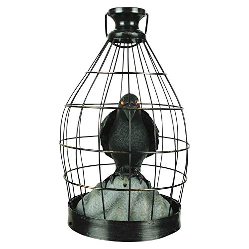 Morris Costumes Crow In Cage Animated]()