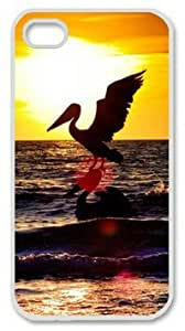 iPhone 5 5s Case, Sea Stork Case for iPhone 5 5s PC Material White