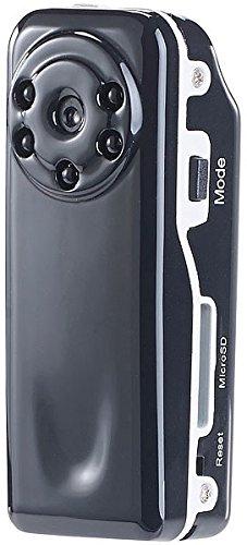 Somikon – Mini Vigilancia de Monitoreo: Mini Cam Raptor de 720. IR con HD