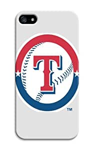 LarryToliver iphone 5/5s Case Slim KickStand Style, Extra Thin, Customizable Baseball Texas Rangers Cases Stand