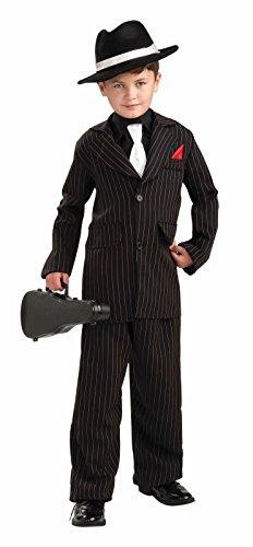 Forum Novelties Littlest Gangster Child Costume, Medium - Zoot Suit Costumes