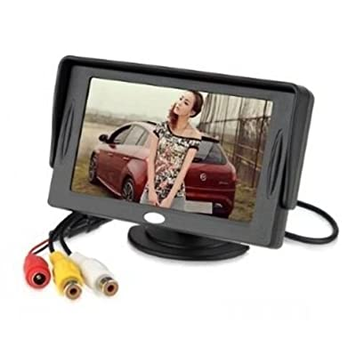 BW 4.3 Inch LCD TFT Rearview Monitor Screen for Car Backup Camera [5Bkhe0414439]
