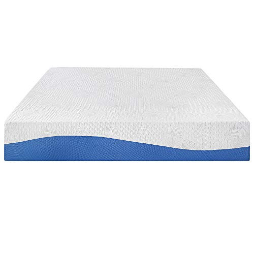 Amazon.com: PrimaSleep Wave Gel Infused Memory Foam Mattress, 10 H, Full, Blue: Kitchen & Dining
