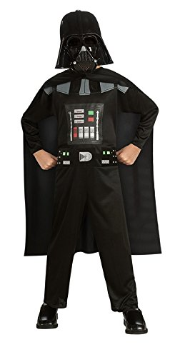 Rubie's Costume Star Wars Episode 3 Child's Darth Vader Value Costume, Medium