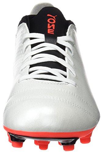 Blanc 17 Chaussures 4 black fiery One Puma White Homme Coral Football de x0pnR5qw