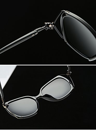 23696266e1 Brand Vintage Fox Diamond Oversized Square Sunglasses Womens Ladies Fashion  Big PC Glasses
