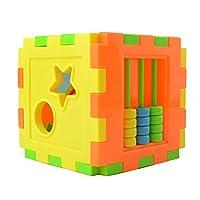 dianagold Multi Shape Sorter Cube Intelligence Box Cognitive Building Blocks Kid Toy