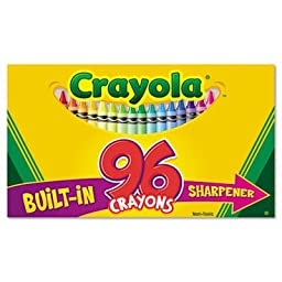 Classic Color Pack Crayons, 96 Colors/Box, Sold as 96 Each