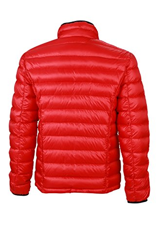 Daunenjacke red Uomo Down Nicholson Jacket black Men's Giacca Quilted amp; Rosso James Oq4E1q