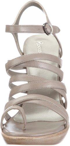 Rocco P. 952/100 D I Sc, Women's Open Toe Sandals Silver - Silber/Sylver