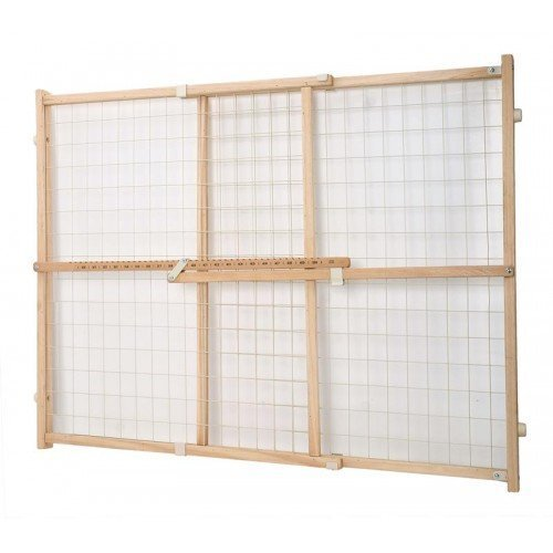 Dogit 70624 Wire Mesh Pet Safety Gate, 29.5-50 W x 32'' H