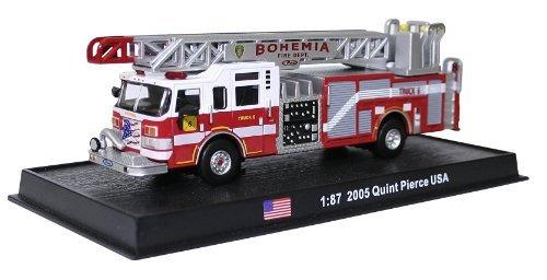 Quint Pierce USA - 2005 diecast 1:87 fire truck model (Amercom SF-3)