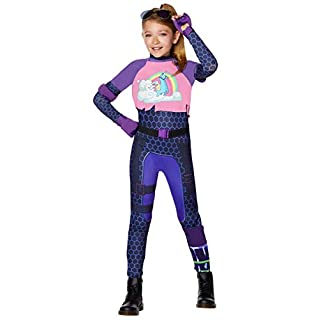 Spirit Halloween Kids Fortnite Brite Bomber Costume - XL