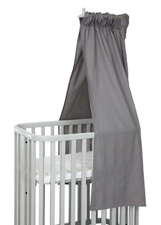 Argington BamBam Canopy Drape, Solid Grey Bam2306