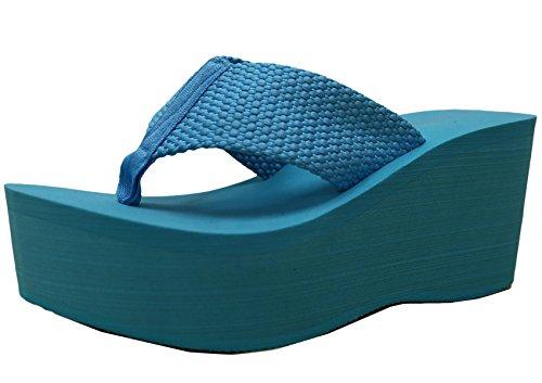 a61c21e15b2 Cambridge Select Women s Comfy Platform Flip Flop Sandal - Buy Online in  Oman.