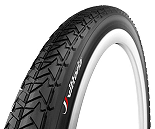 Slick Bicycle Tires (Vittoria Evolution Tire, Black, 26 x 1.9)