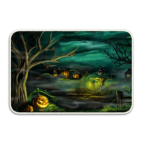 Elvira Jasper Happy Halloween Day Indoor/Outdoor Rubber Floor -