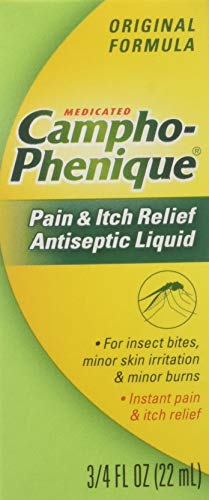 Campho-Phenique Pain & Itch Relief Antiseptic Liquid 0.75 fl oz (Pack of 3) (Best Otc Canker Sore Treatment)