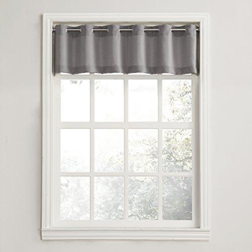 "No. 918 Montego Casual Textured Kitchen Curtain Valance, 56"""