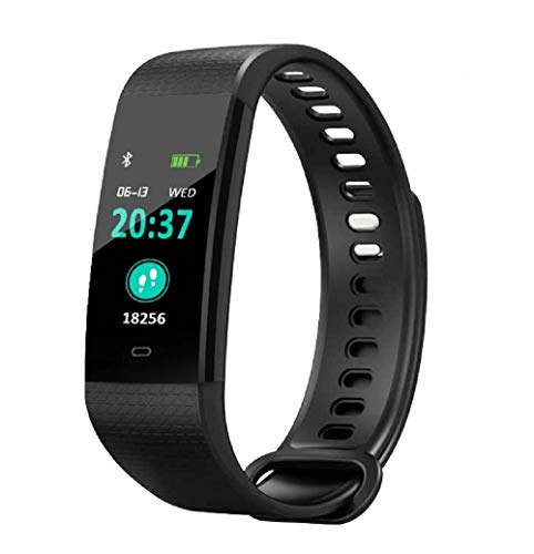 Fitness Tracker, Waterproof Activity Tracker Watch with Heart Rate Monitor,Sleep Monitor, Step Counter,Calorie Counter, Pedometer Watch for Kids Women and Men