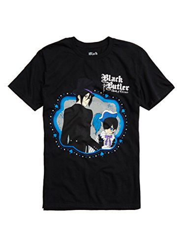 Price comparison product image Black Butler: Book Of Circus Sebastian & Ciel T-Shirt