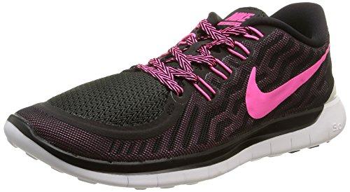 Multicolor 5 Nike Pnk Glw Free 0 Mujer Pink Zapatillas para de Black Pnk Pow Running Fl 5qgq8xpw
