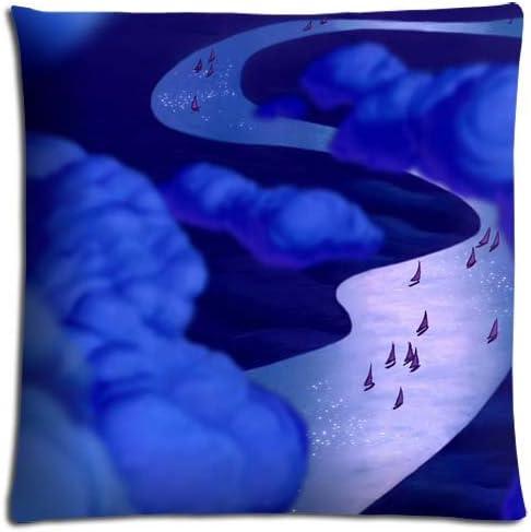 Aladdin sana coche protectores de conchas pillow Case con cremallera poliéster/algodón 18 x 18 (45 x 45 cm): Amazon.es: Hogar