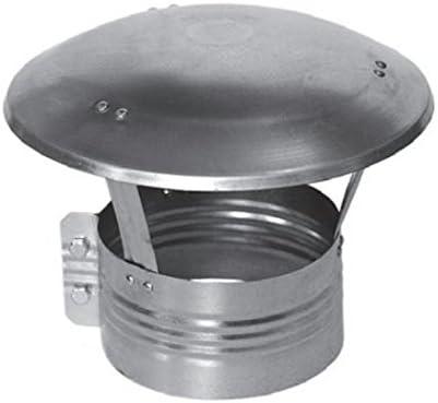 Chapeau de pluie Chapeau de chemin/ée en acier inoxydable Anti courant descendant