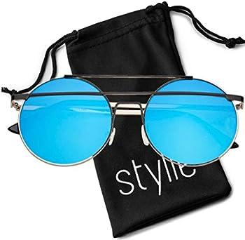 Stylle Round Designer Sunglasses for Women Men